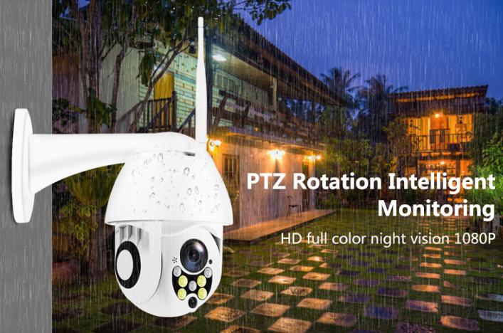 1080P wireless Dome type outdoor Security Camera