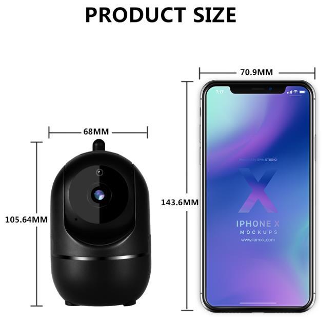 1080P wireless indoor Home Security Camera
