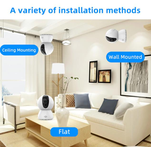 720P-1080P wireless Home Security Camera