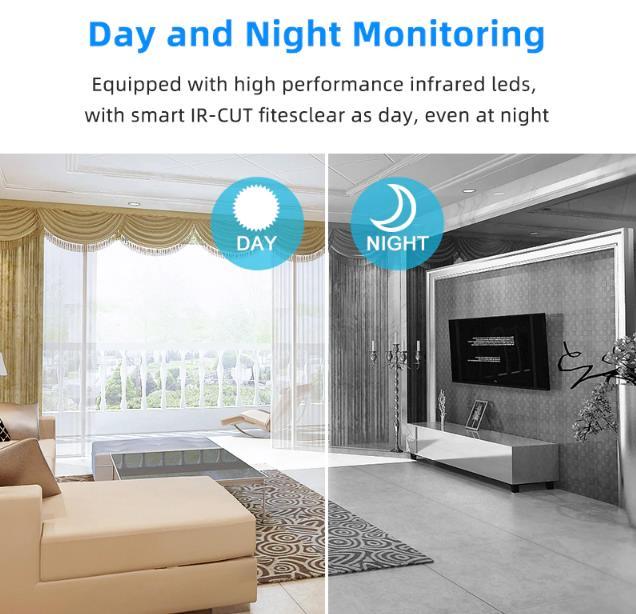 720P/1080P wireless Home Security Camera