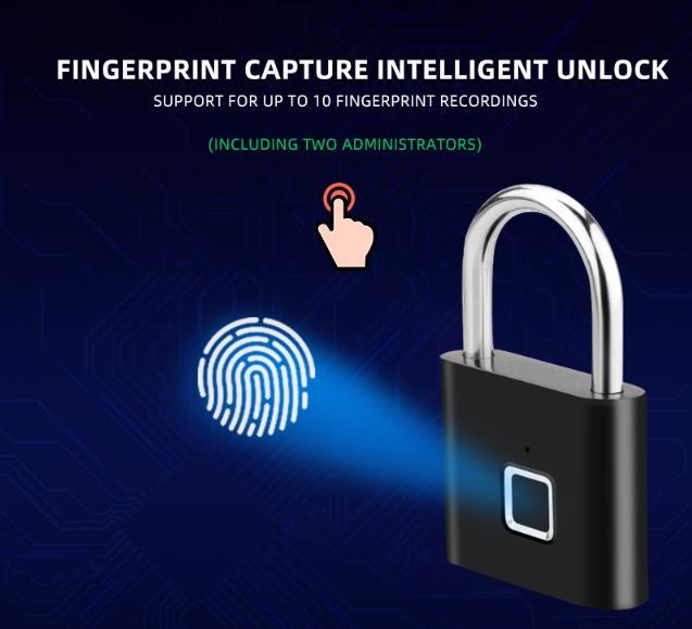Keyless Smart Door Lock with fingerprint sensor