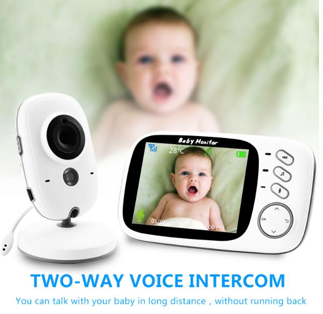 Wireless Baby Monitor with 3.2 inch LCD screen