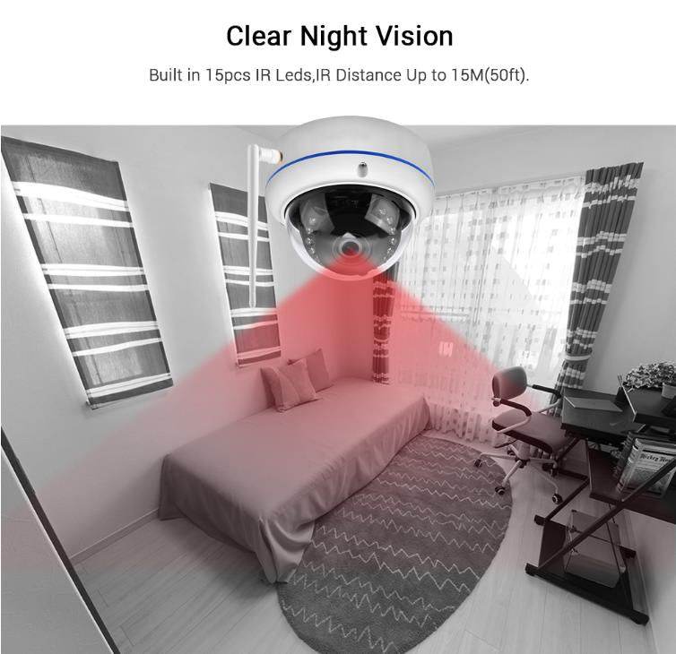 1080P All Weather Vandal-proof Dome Security Camera