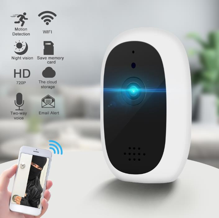 720p Night Vision Auto Tracking lifestyle Security Camera