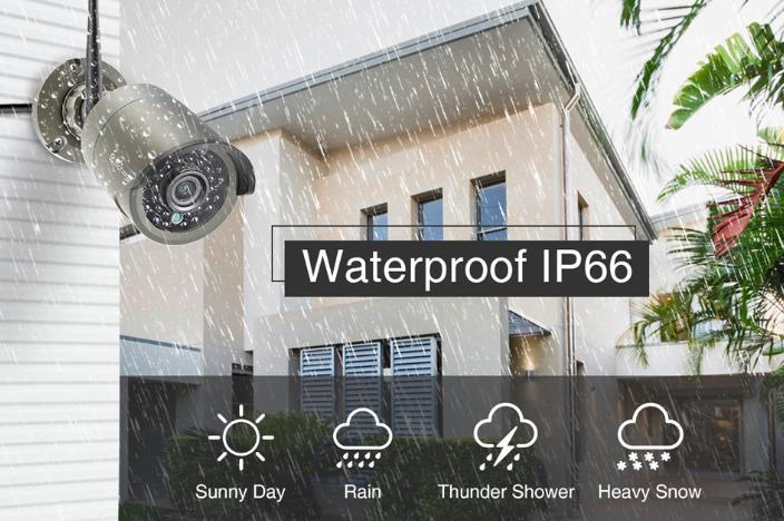 IP66 Waterproof Security Camera