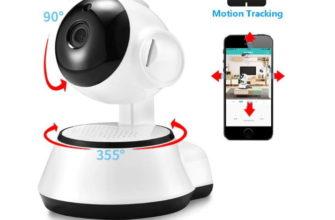 Night Vision Auto Tracking indoor Security Camera-
