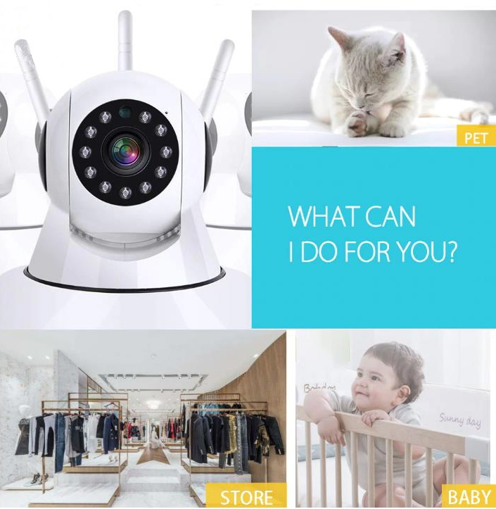 1080p Night Vision Home Security camera